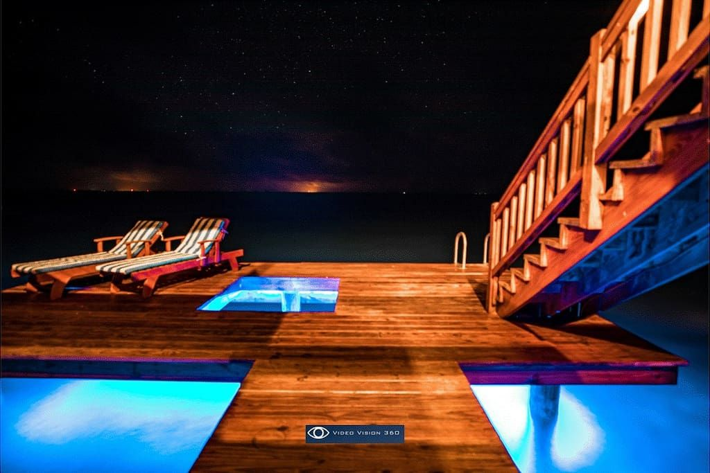 Belize airbnb on private island