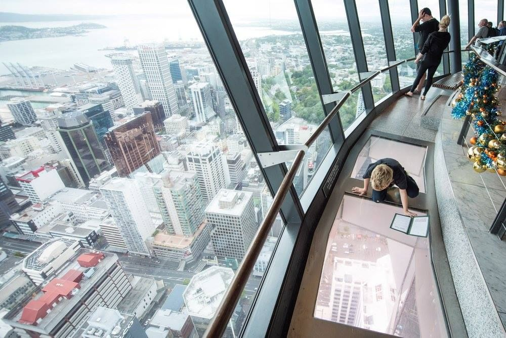 Skytower observation deck