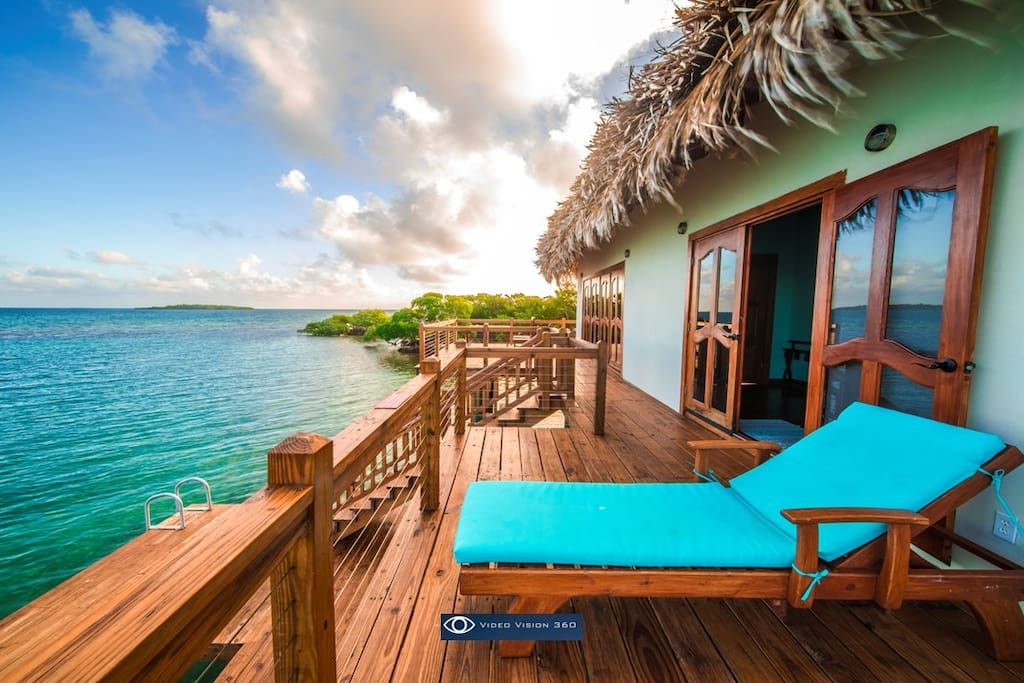 Private island on Airbnb