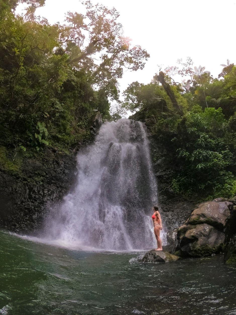 Bouma Waterfalls Taveuni Fiji