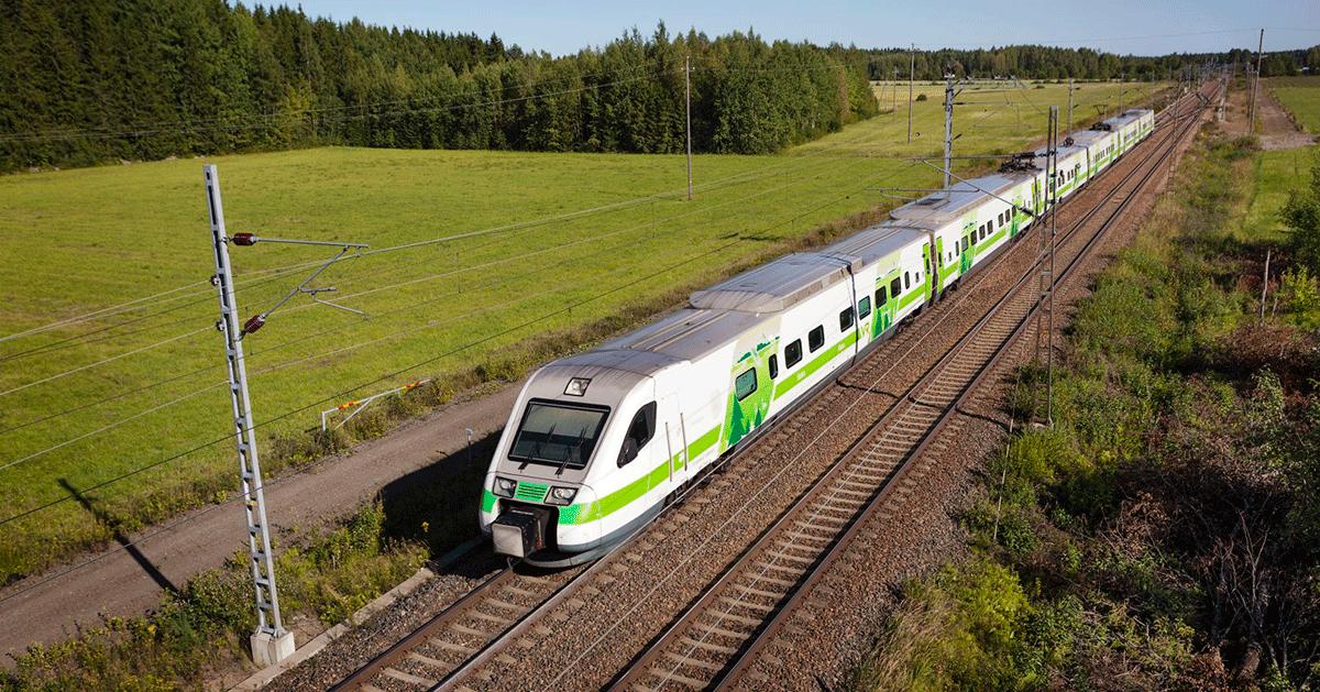 VR - Yhteisellä matkalla train