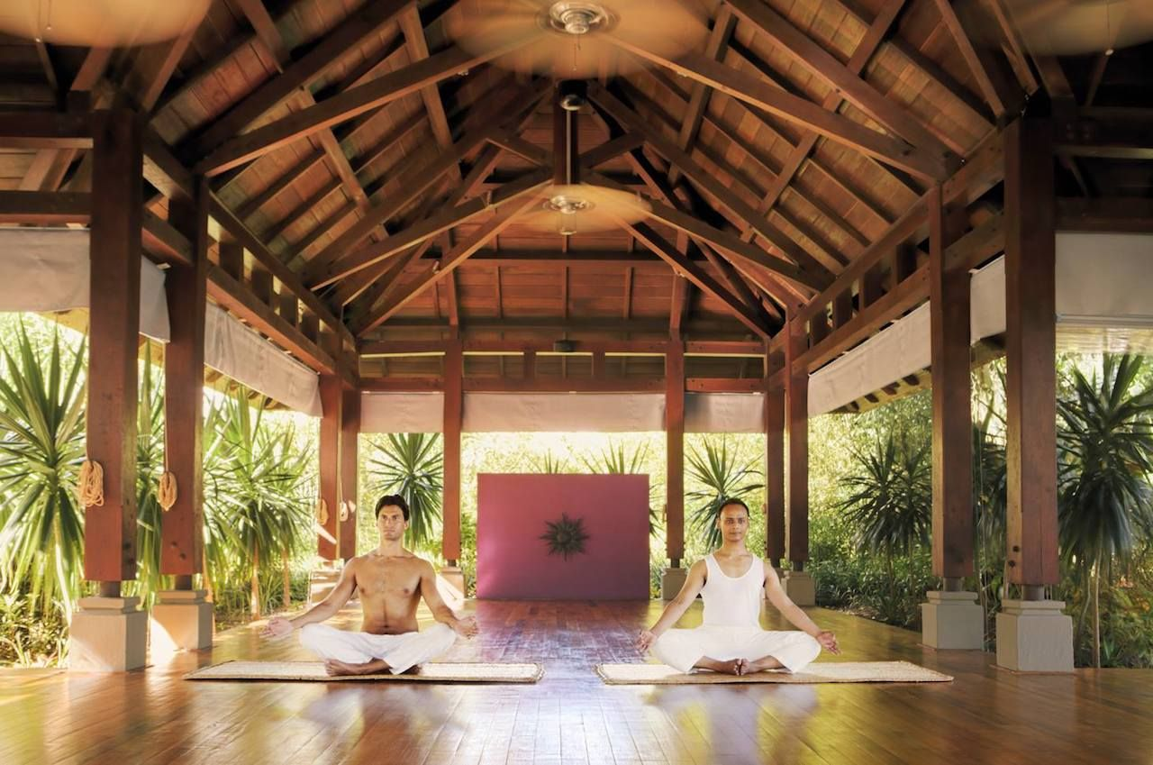 Meditation in Mauritius