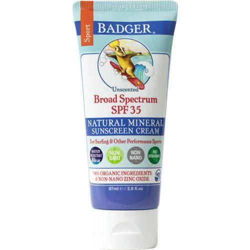 Badger Balm Sport Sunscreen Cream