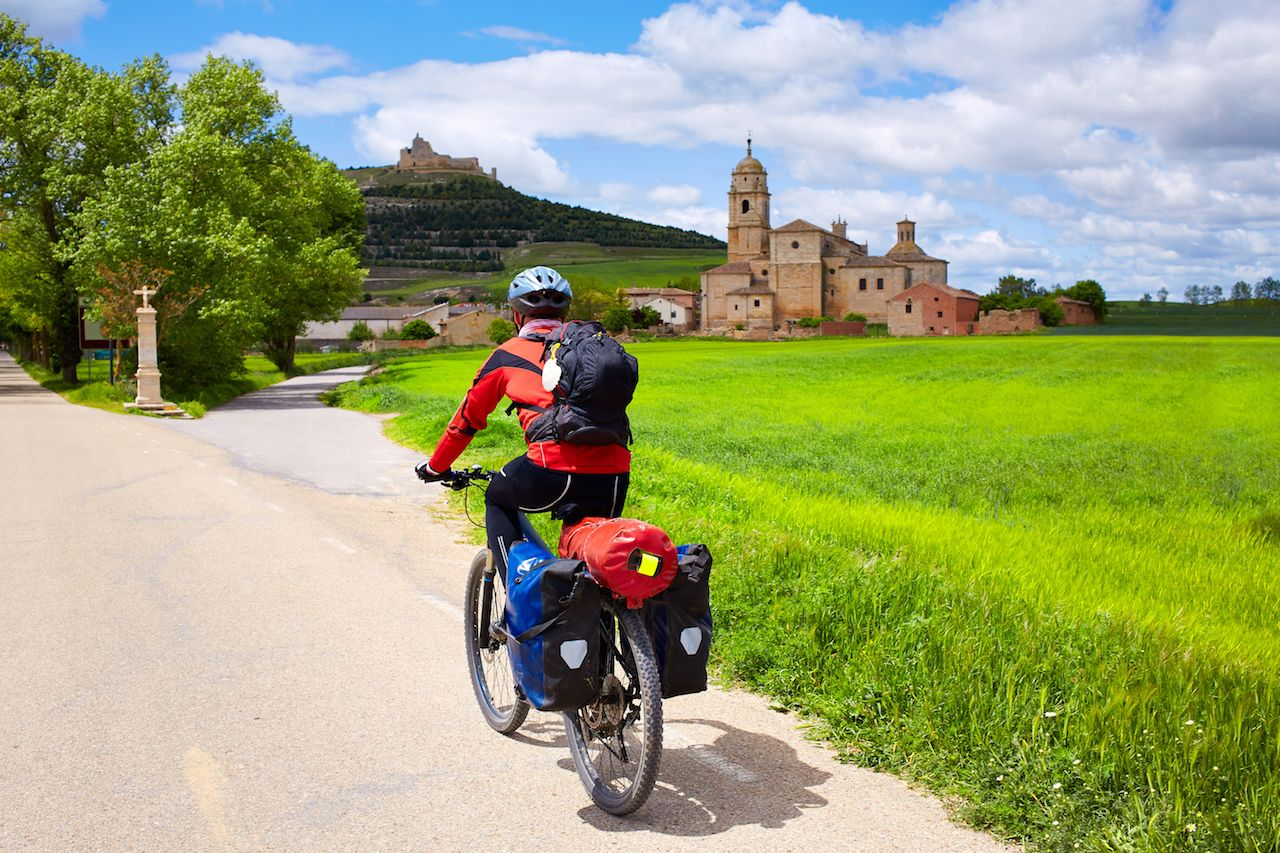 Camino Frances by bike
