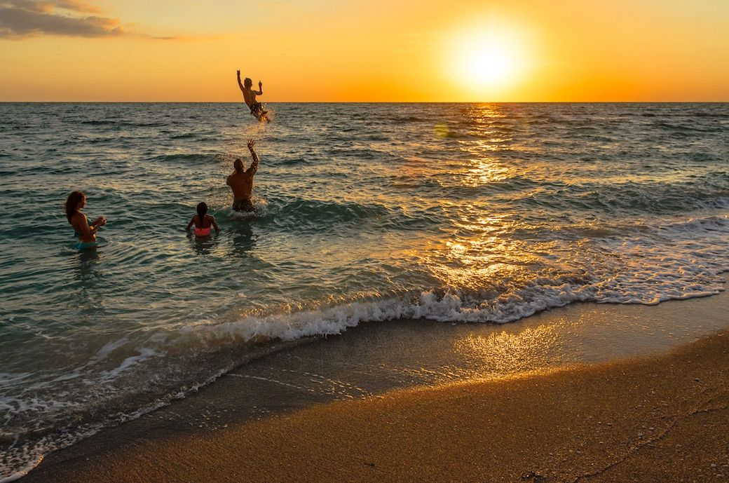 Captiva family beach Fort Myers Sanibel Florida
