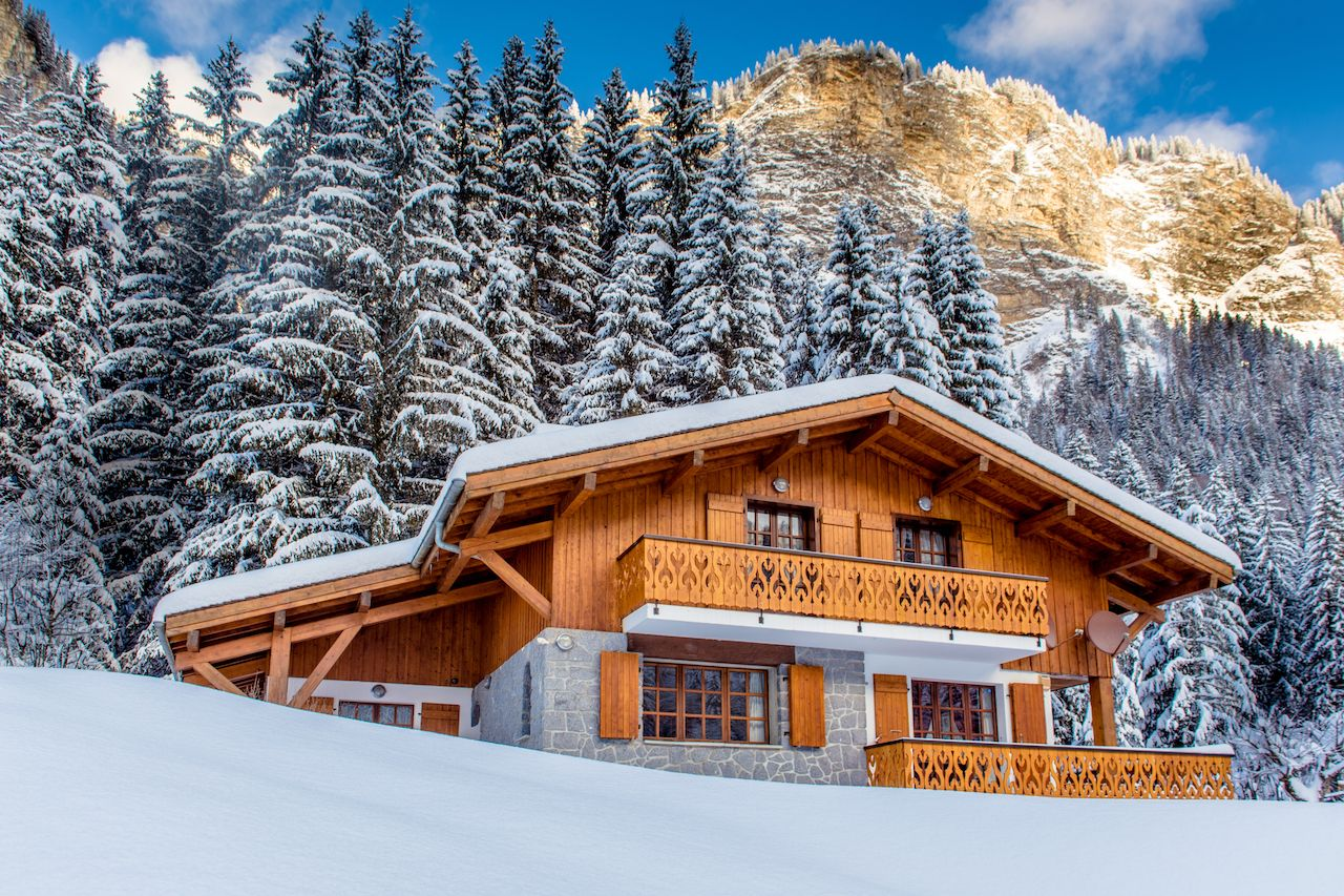 Chalet in Alpine setting