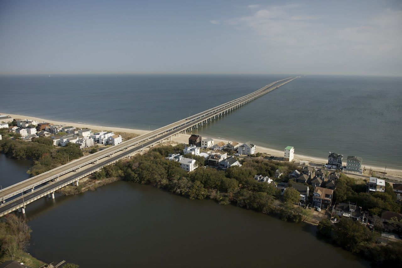 Chesapeake Bay Bridge Virginia