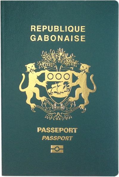 Gabon passport