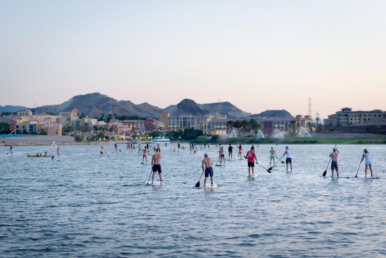 Lake Las Vegas Nevada watersports