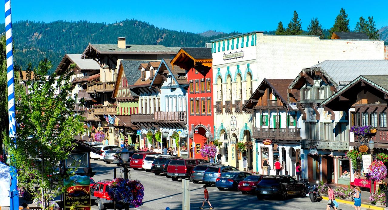 Summer travel in Leavenworth, WA