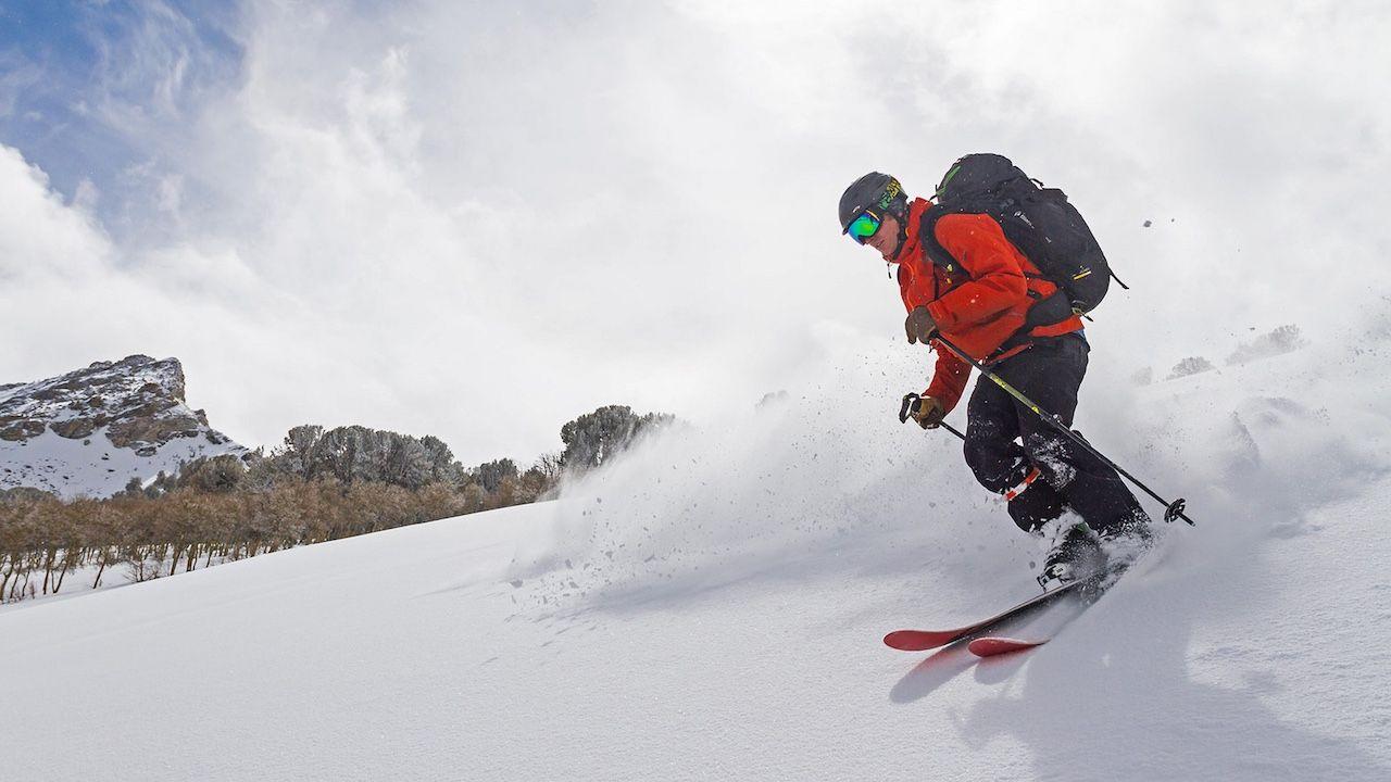 Ruby Mountain skiing Nevada