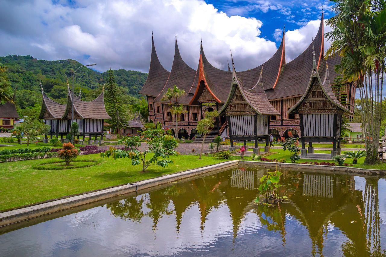 Rumah Gadang in Indonesia