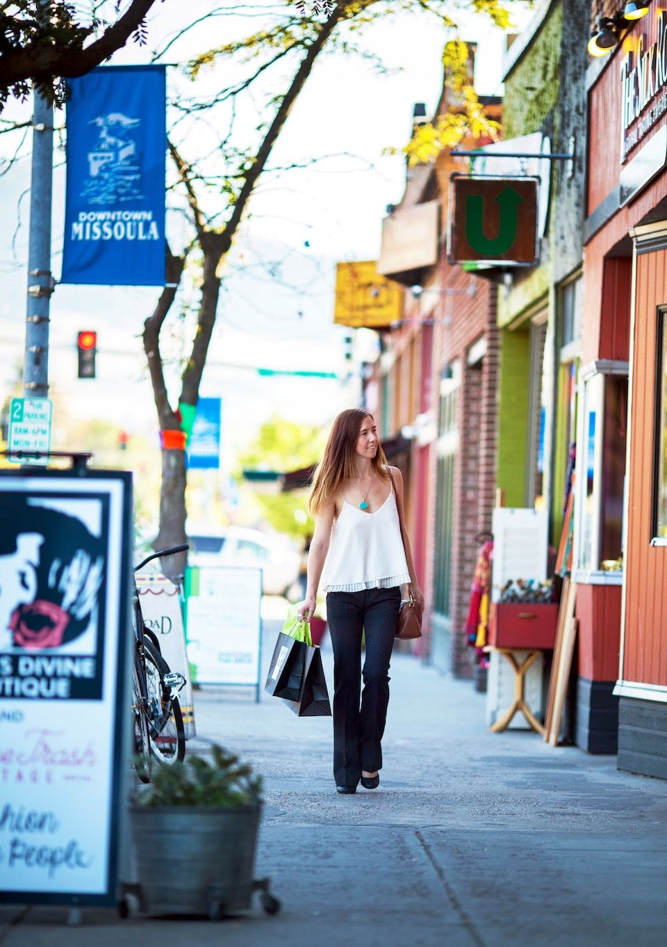 Shopping on Hip Strip Missoula Montana