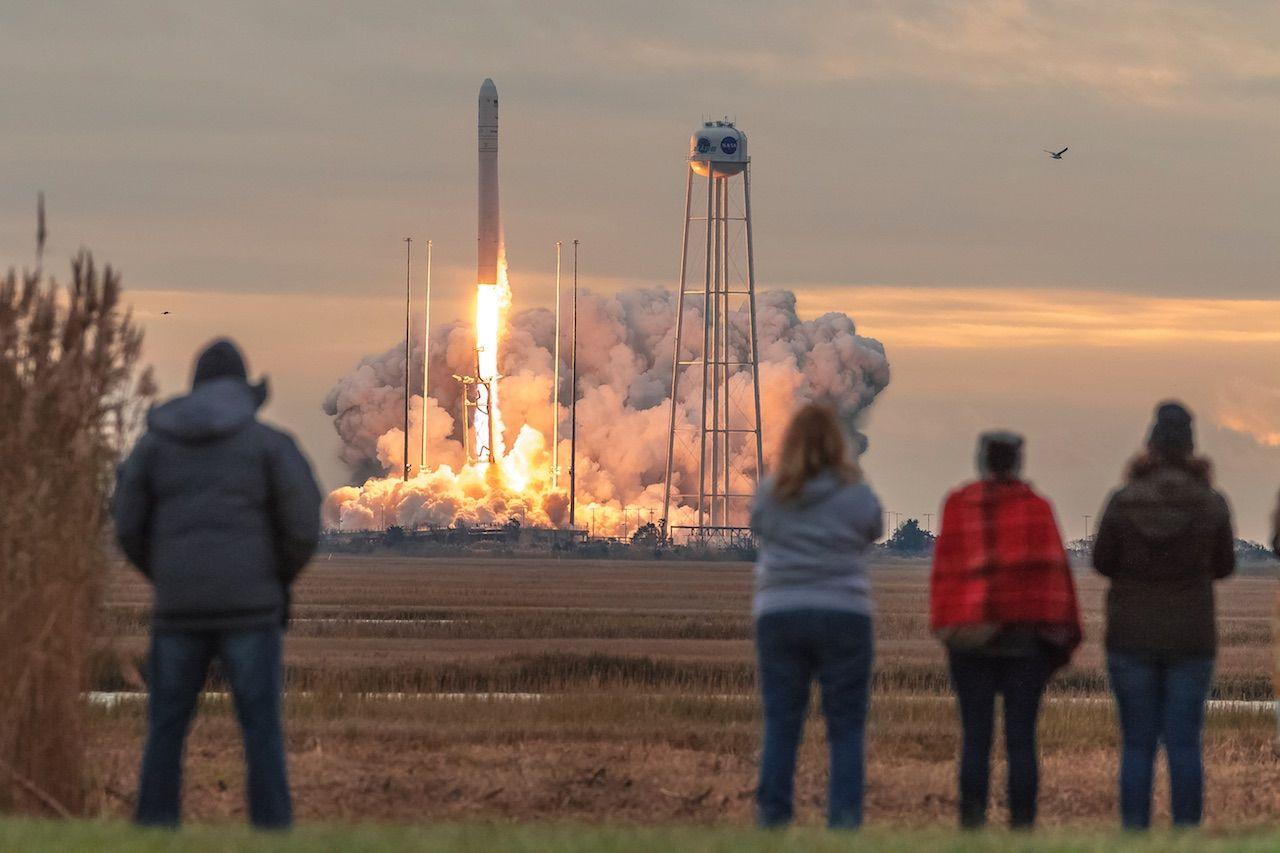 Wallops Island Rocket Launch Virginia