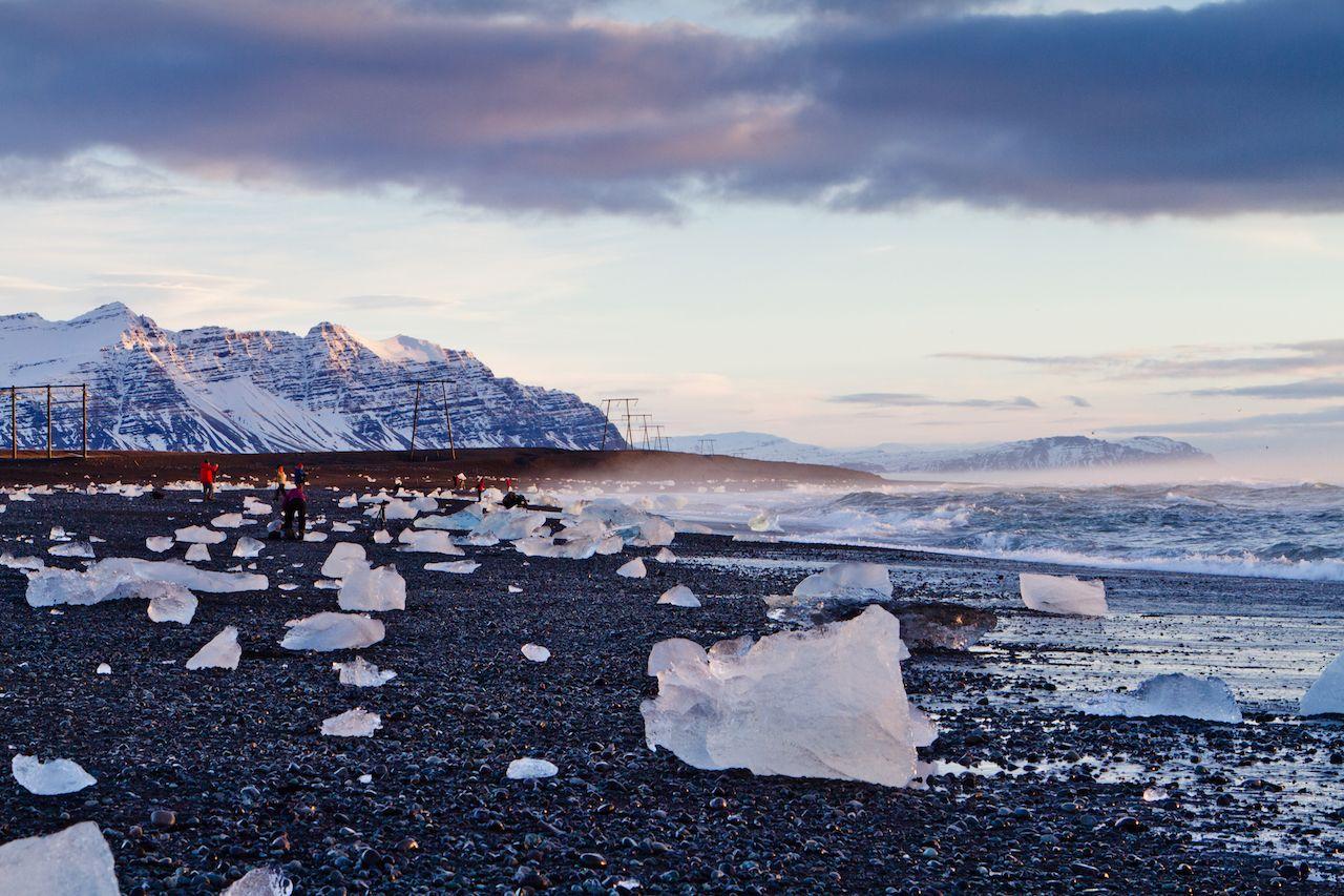 Beach in Iceland