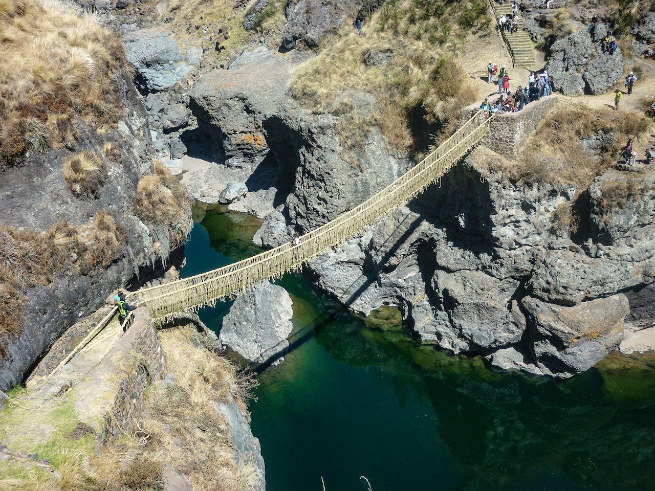 Peru bridge