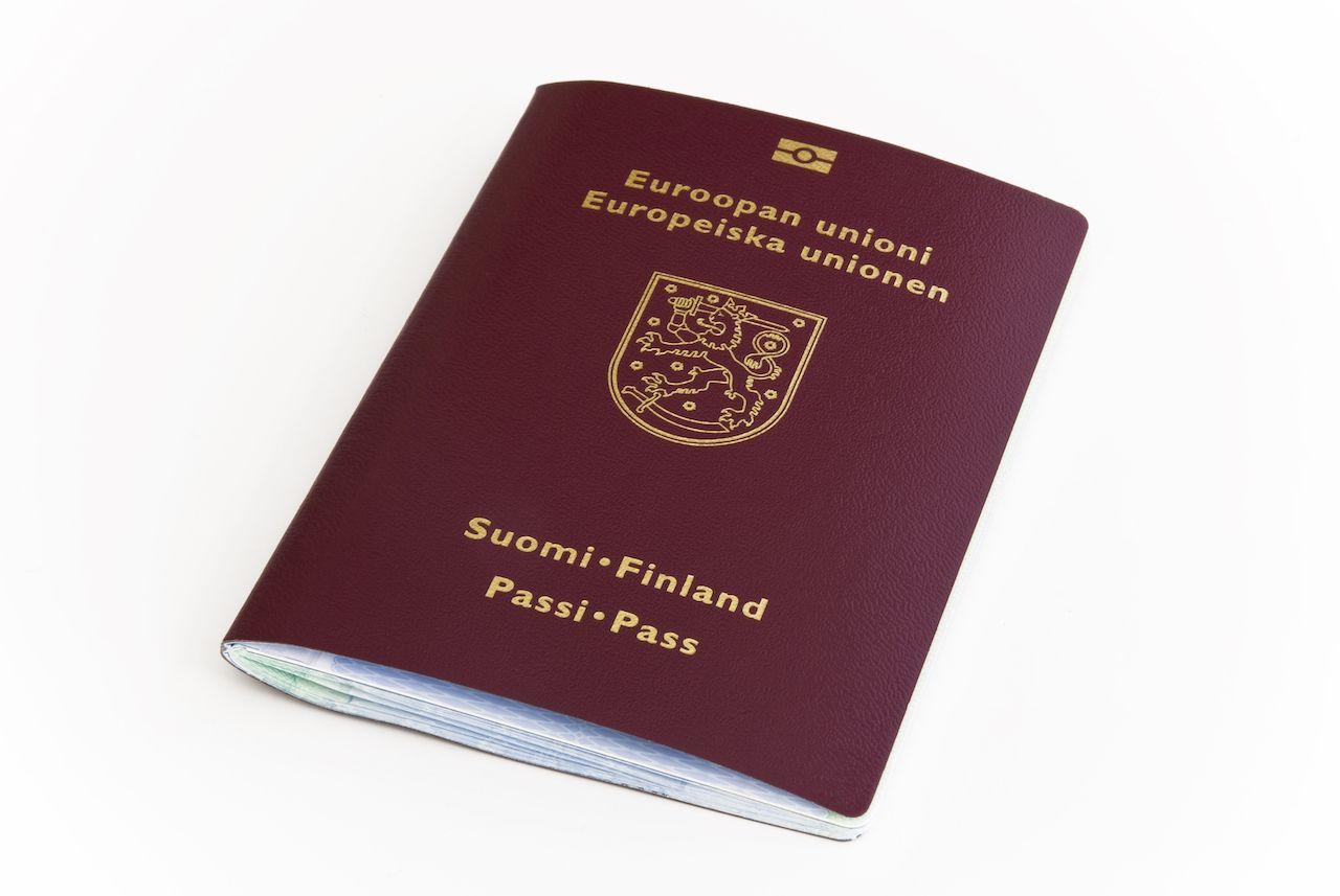 Finland passport