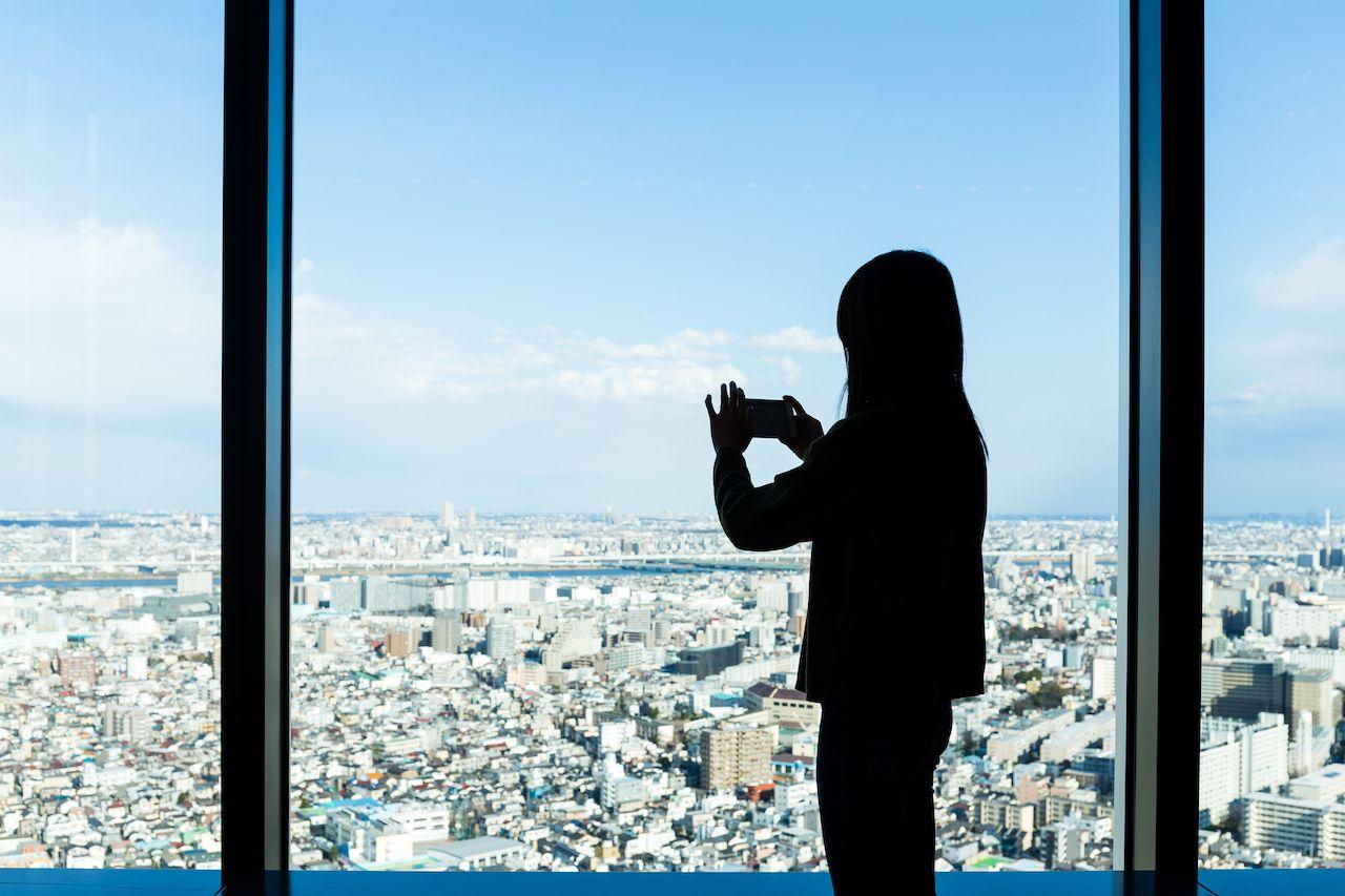 Observation deck tokyo