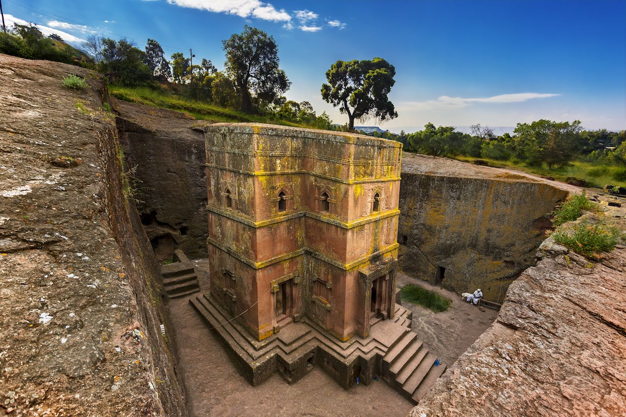 The Church of St. George, Ethiopia