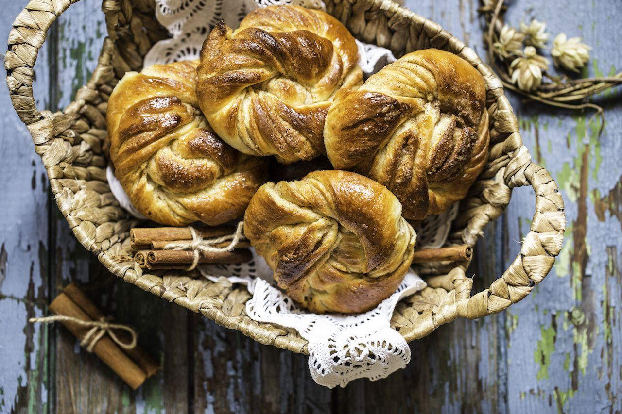 Kanelbullar pastry