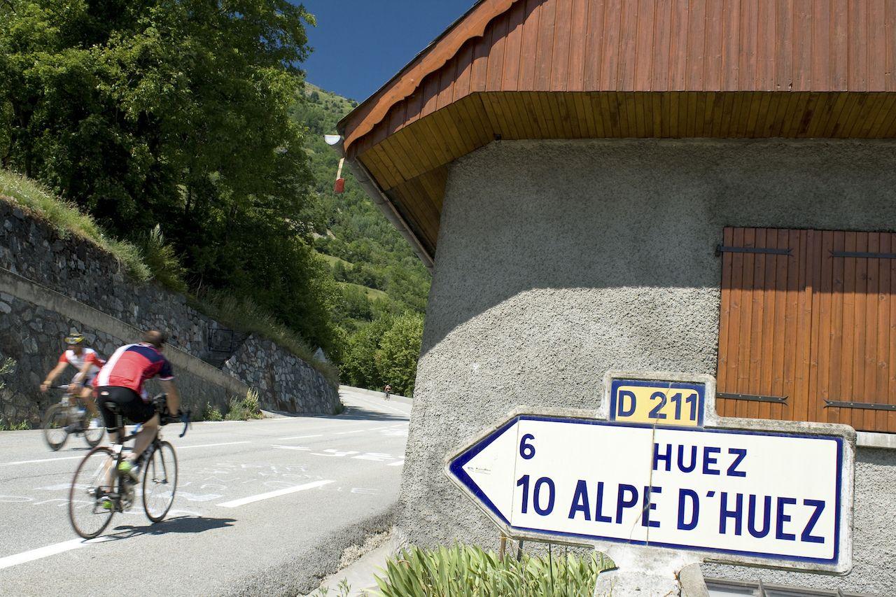 Alpe de HUez Tour de France