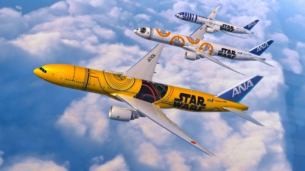 ANA Star Wars aircrafts