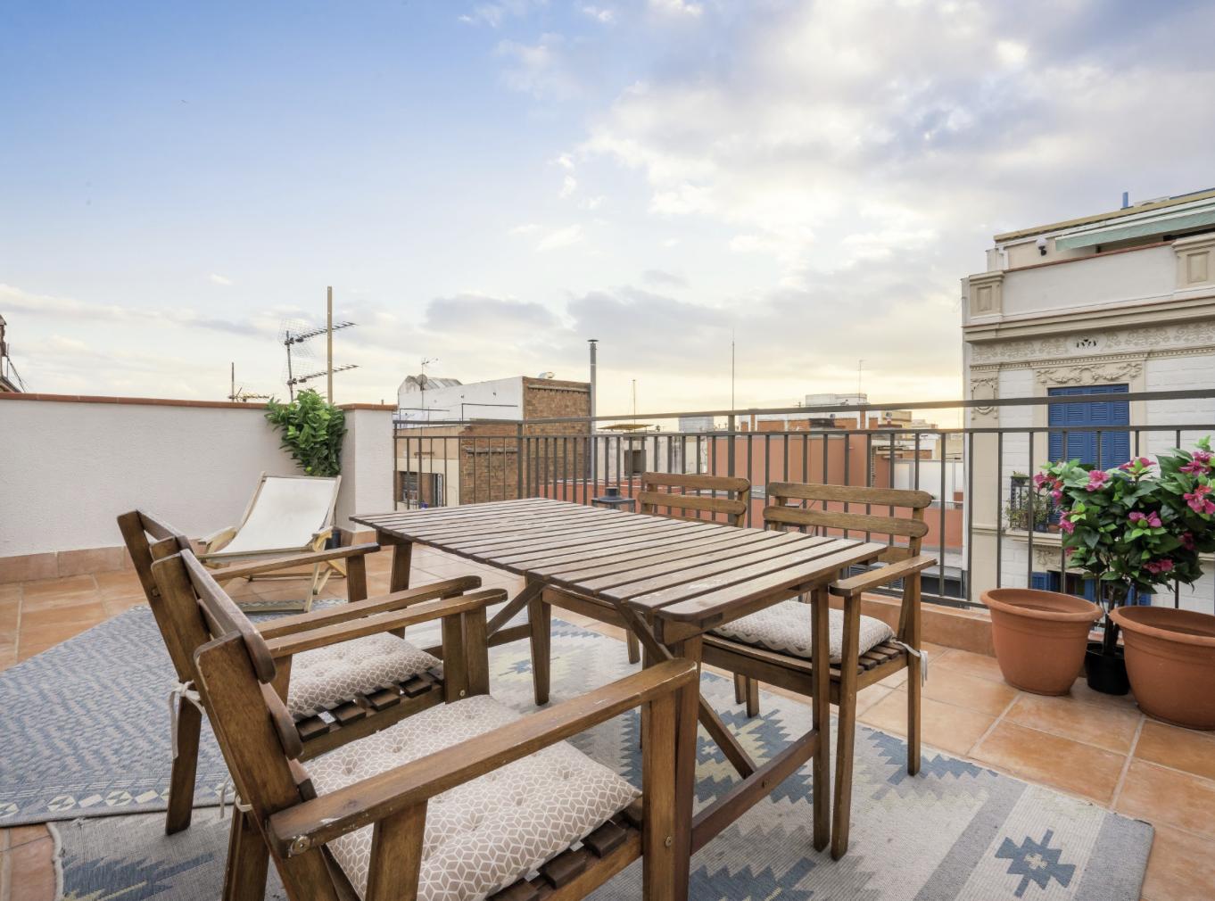Amazing penthouse apartment near Park Güell, Barcelona, Spain
