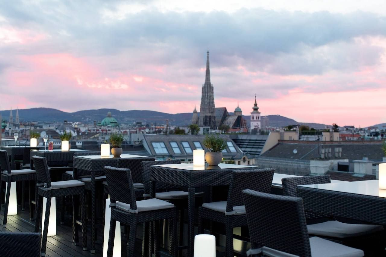 Atmosphere Rooftop Bar in Vienna