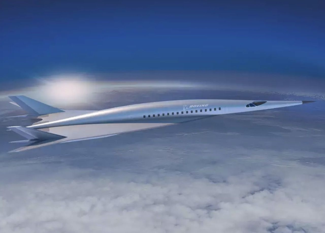 Boeing to make hypersonic jet