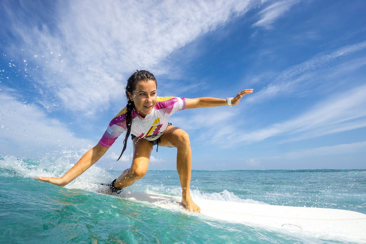 Surf Where Women Dominate The Waves