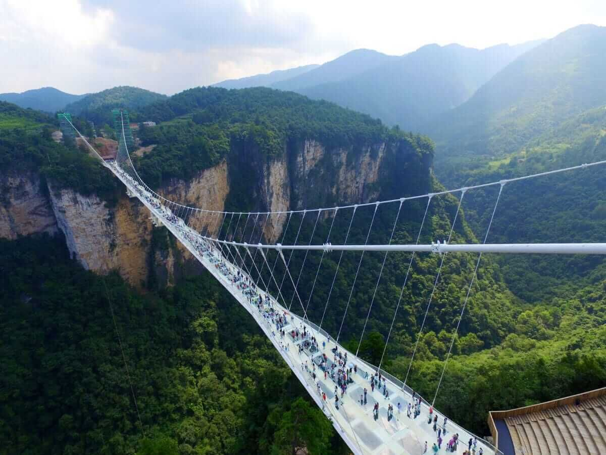 Bungee jump in China