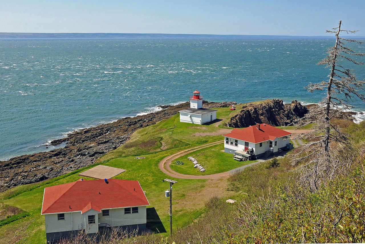 Cape D'Or Lighthouse in Canada