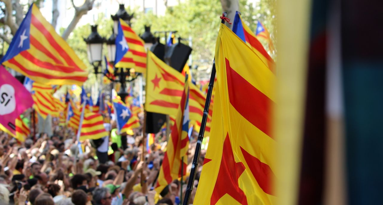 Catalonia's National Day in Barcelona