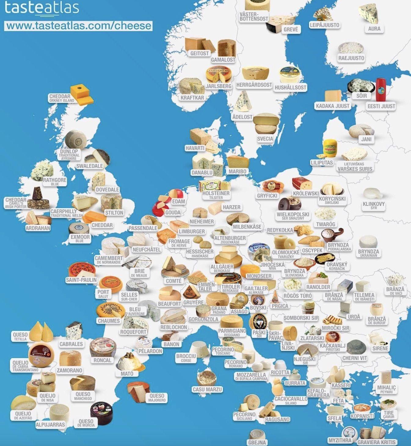 European cheese