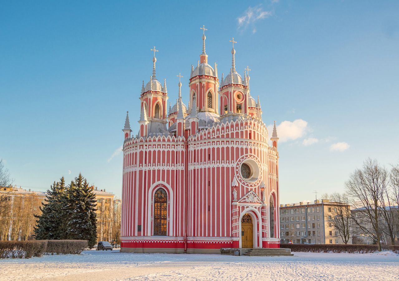 Chesme Church Russia