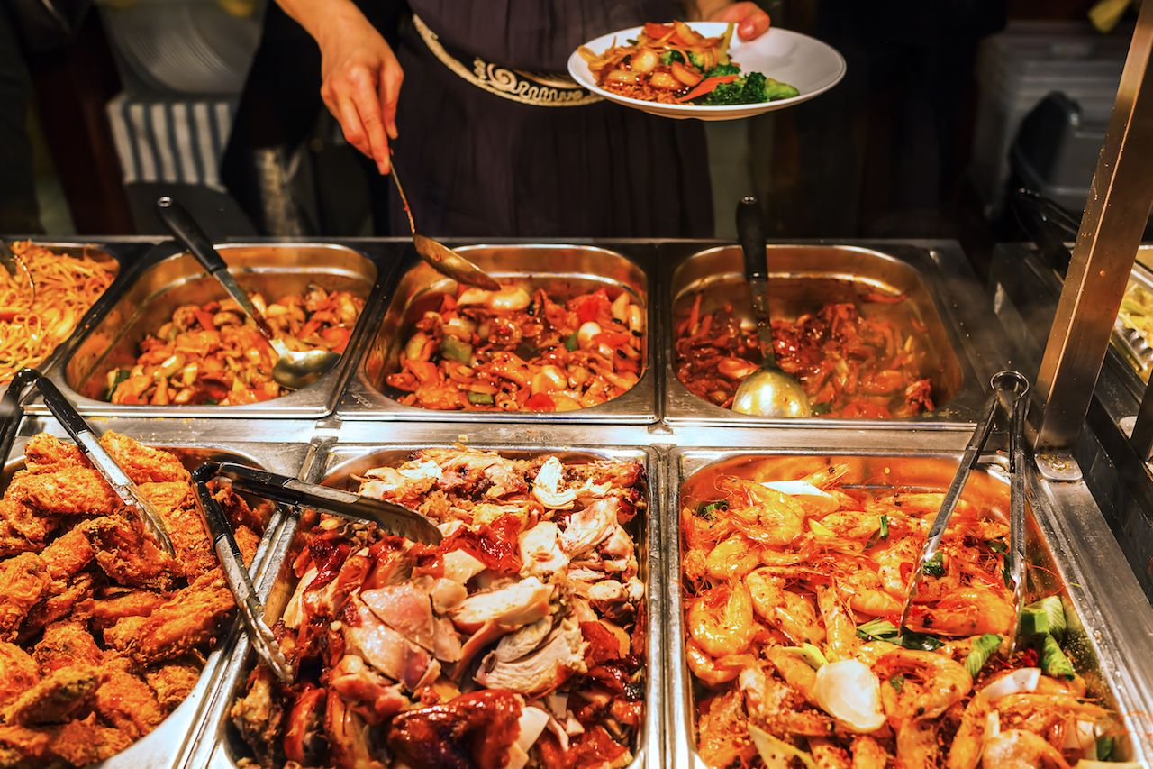 All-you-can-eat buffet bankrupt