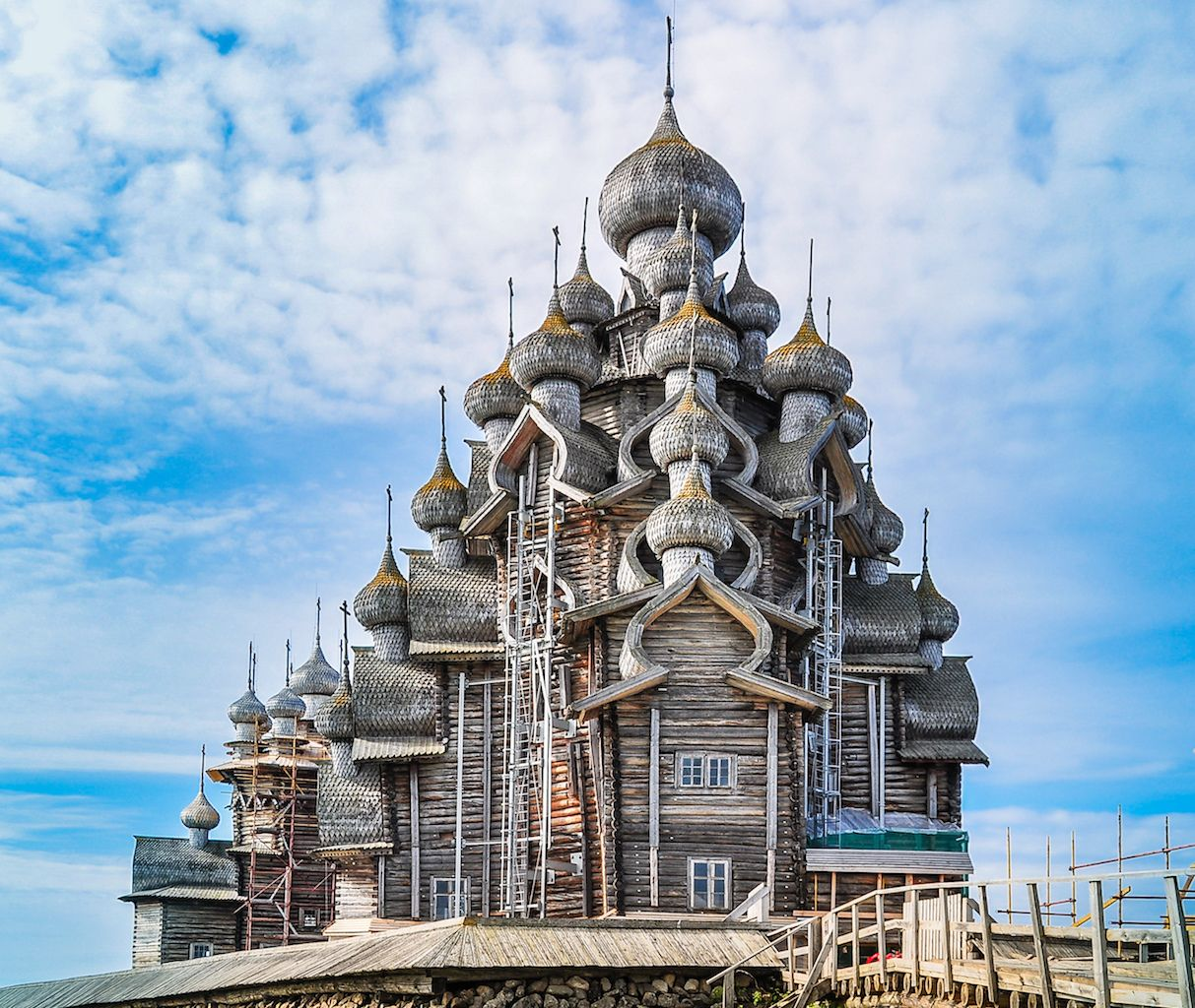 Church of the transfiguration Russia
