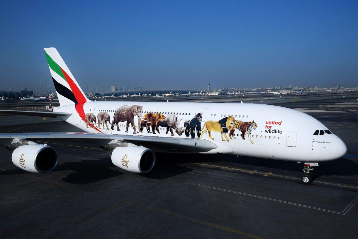 Emirates livery