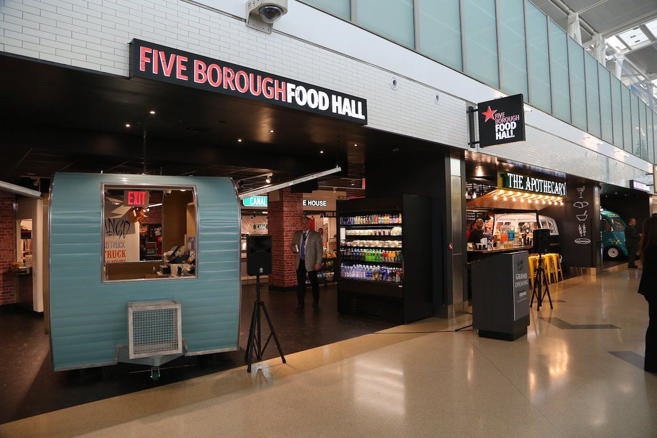 Five Borough Food Hall in New York