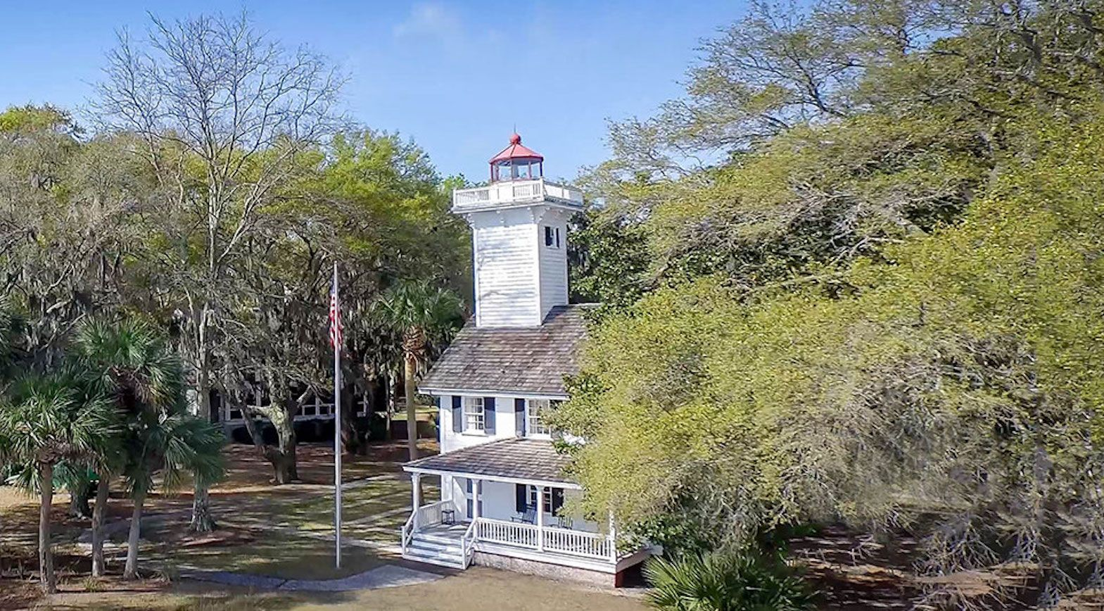 Haig Point Lighthouse in South Caroline, US