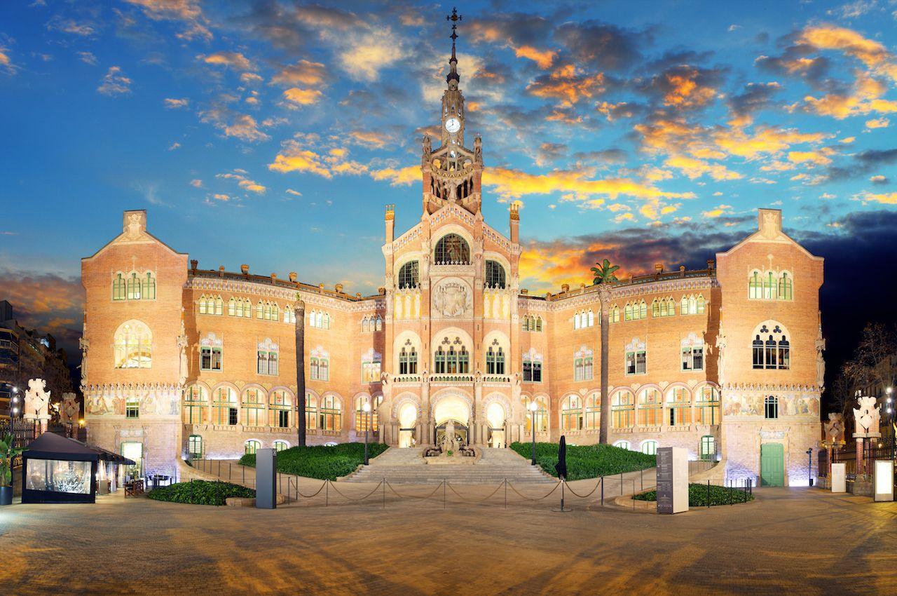 Hospital de la Santa Creu i de Sant Pau Barcelona Spain