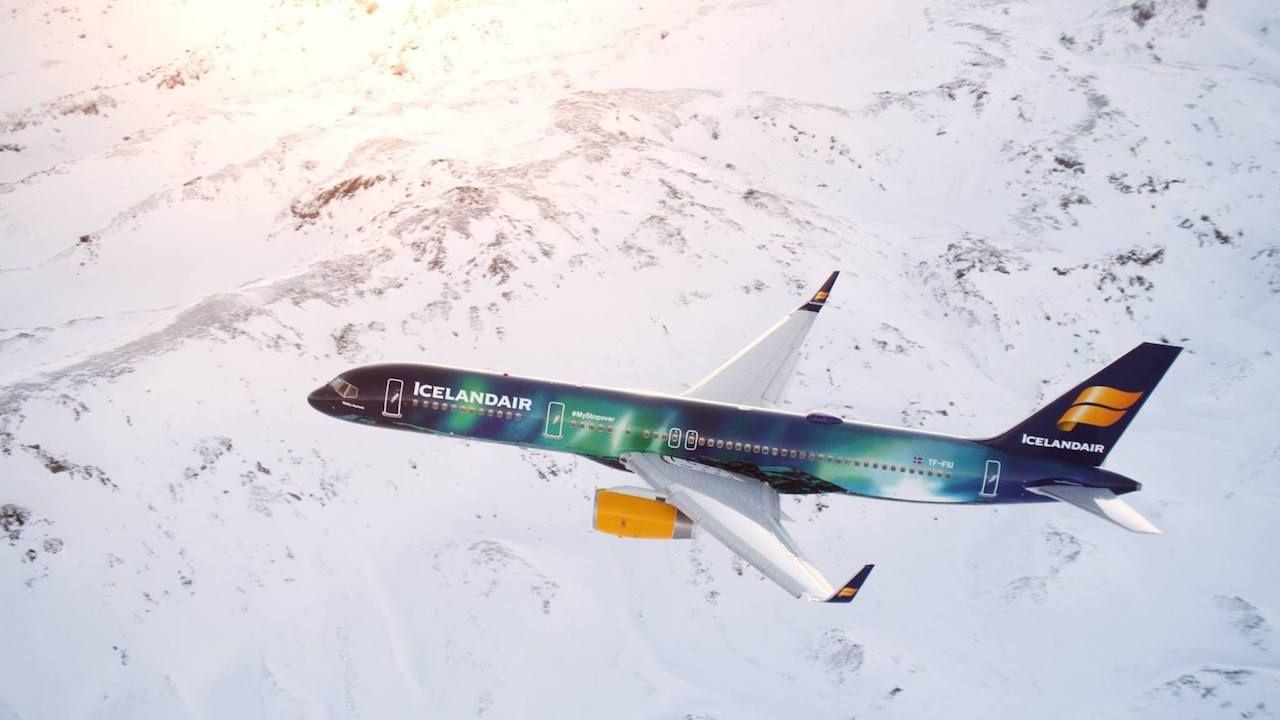 Icelandair livery
