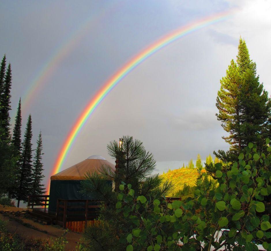 Idaho state park yurts