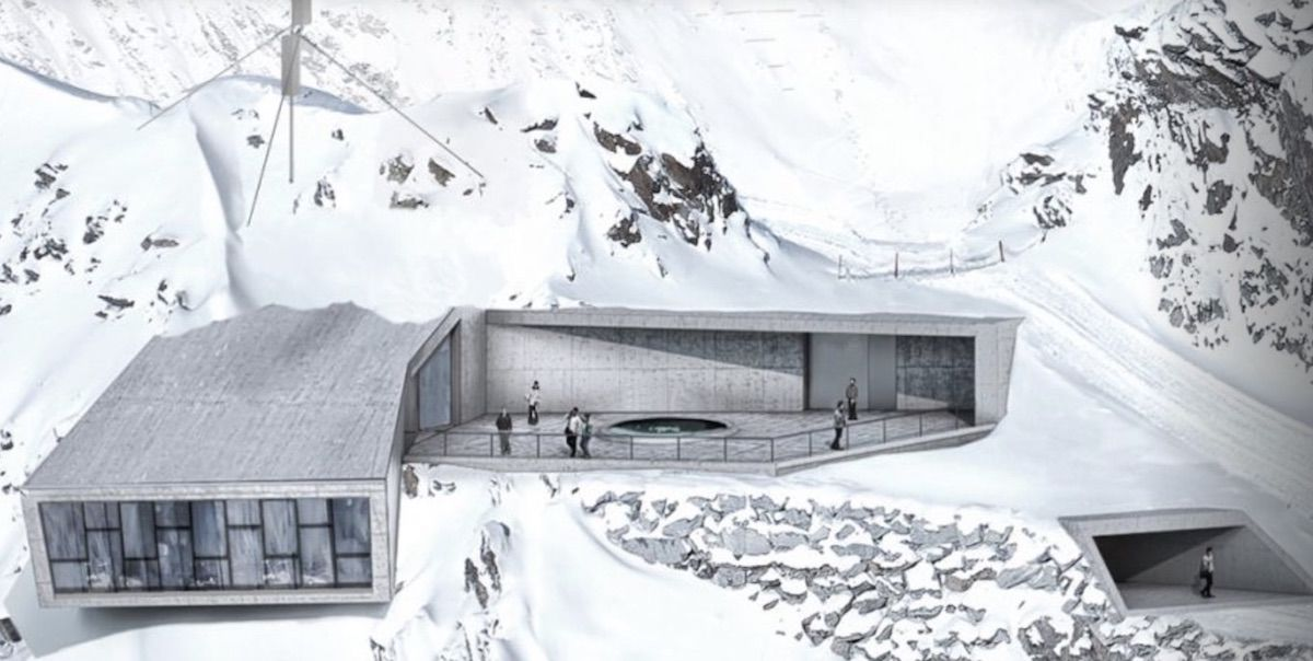 A James Bond museum is opening on a mountain summit in the Alps