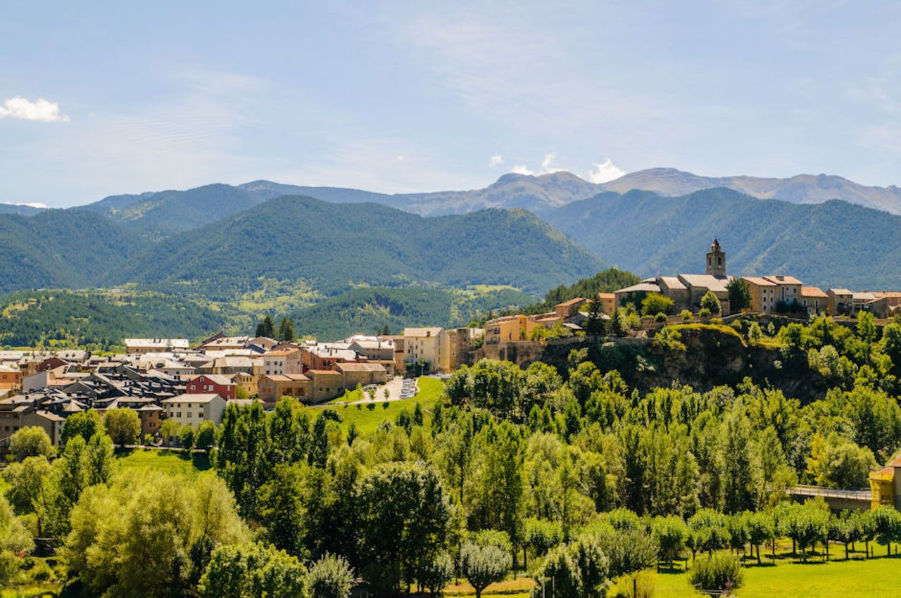La Cerdanya, a mountainous region of Catalunya near Barcelona