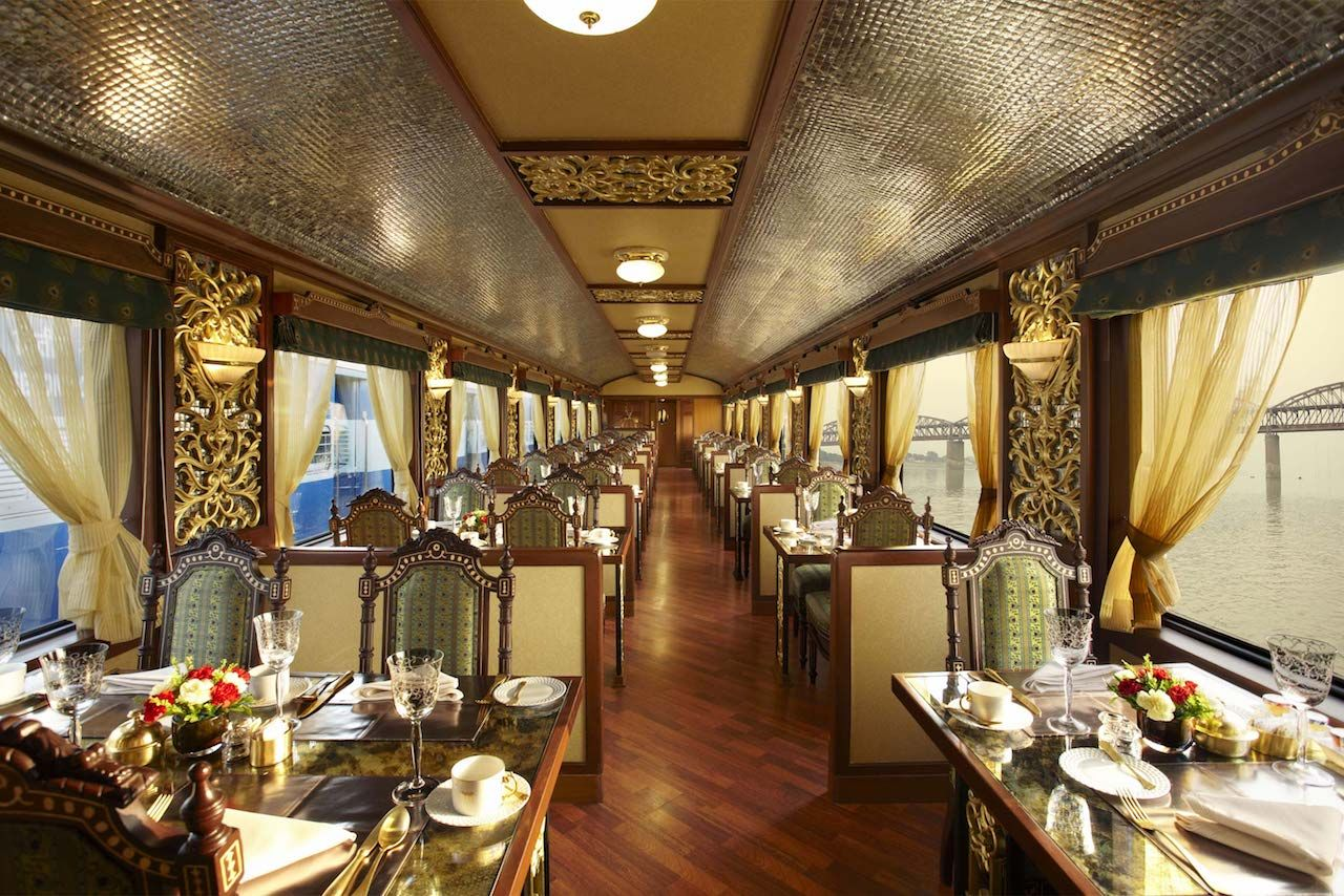 Maharajas' Express in India