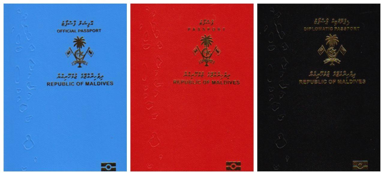 Maldivian passports