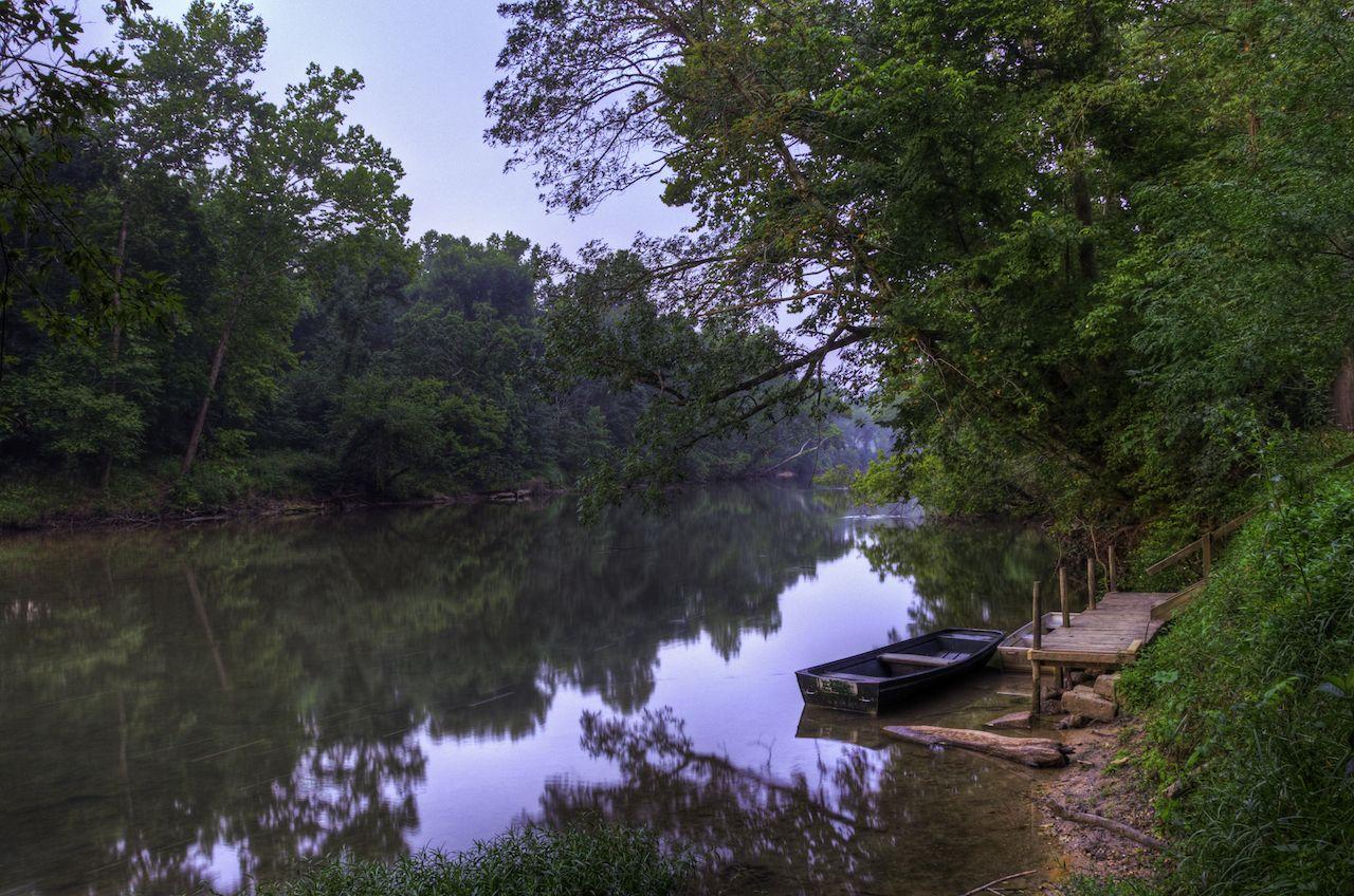 Tubing down Meramec River