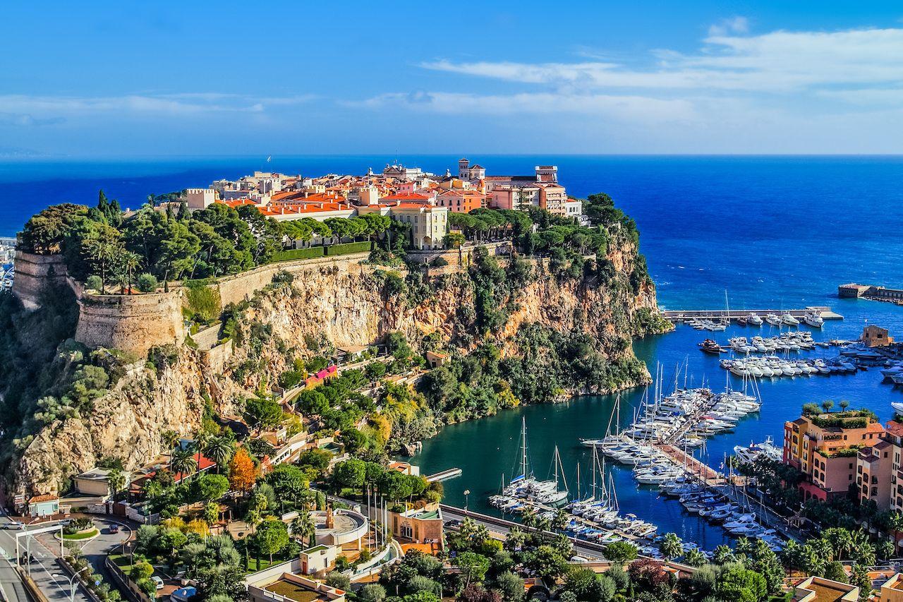Monte Carlo scenery