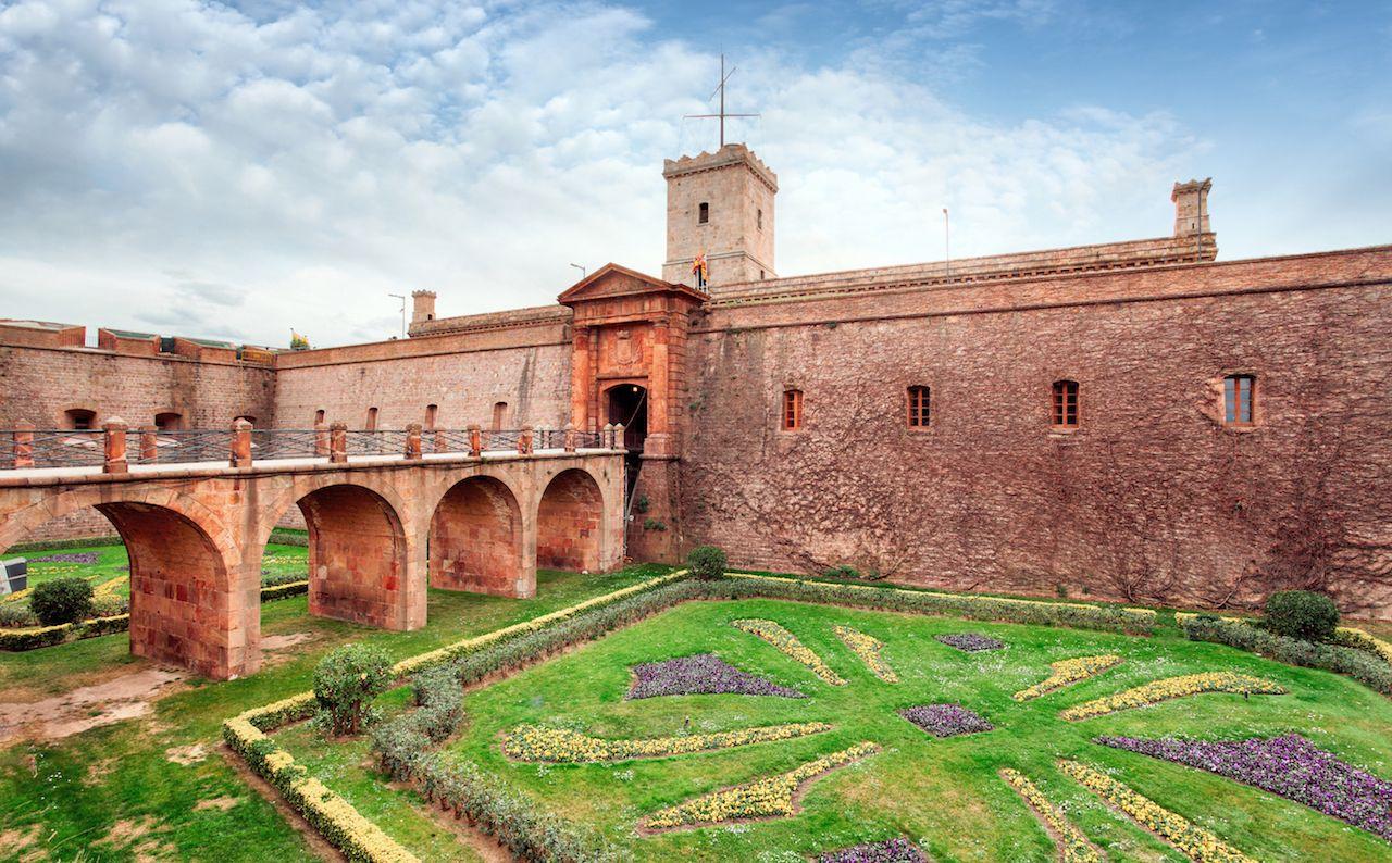 Montjuic Castle Barcelona Spain